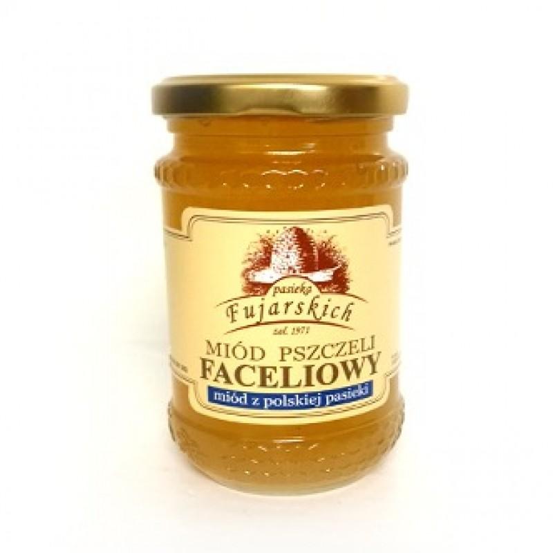 Miód pszczeli faceliowy słój o wielkości 350 g